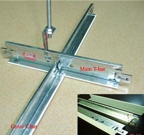 T-Grid Ceiling Steel Framework