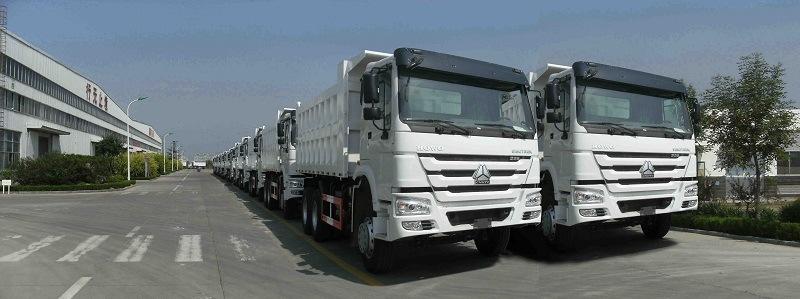 Sinotruk HOWO 6X4 20cbm 10 Tires Dump Truck