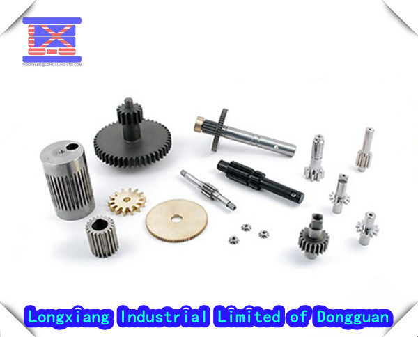 Precision Gear Wheels and Turned Parts in CNC Machining