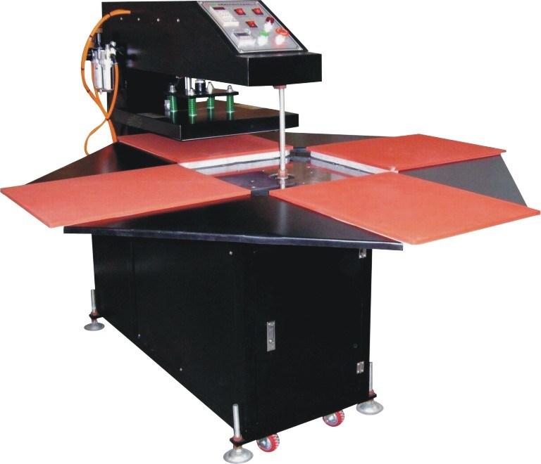 China Rotary Heat Transfer Machine Four Sation Heat