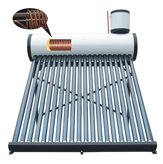 Copper Coil Color Steel Solar Water Heater