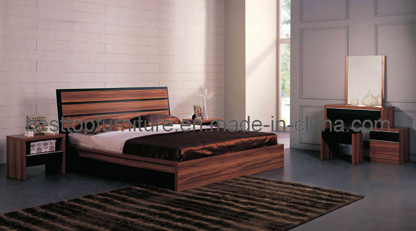 China Melamine Bedroom Furniture 9920a China Bedroom Furniture Home Furniture