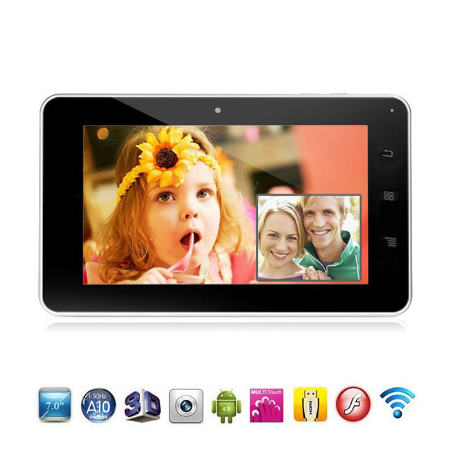 Inch Google Android 4.0 Tab PC MID Tablet PC Manual (M1+)