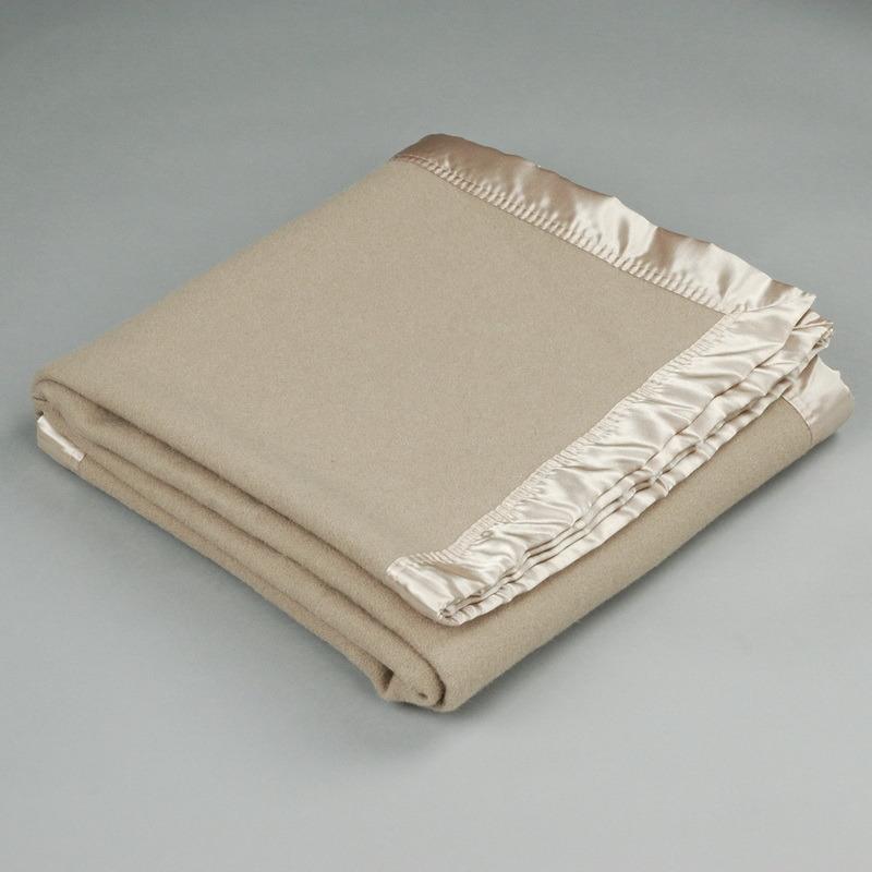 Woolmark Certified Soft Pure Australian Wool Blanket