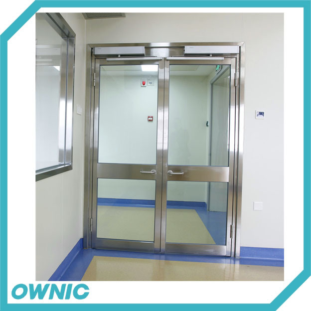 Ozp01 Automatic Glass Swing Door