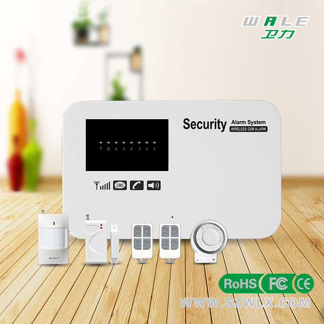 Wireless Smart Home Intruder Security GSM Burglar Intelligent Alarm System with APP & Android Function