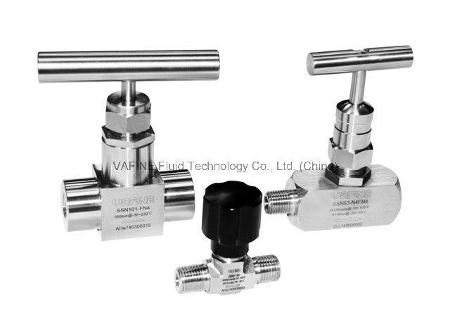 Stainless Steel Nonrotating-Stem Needle Valves