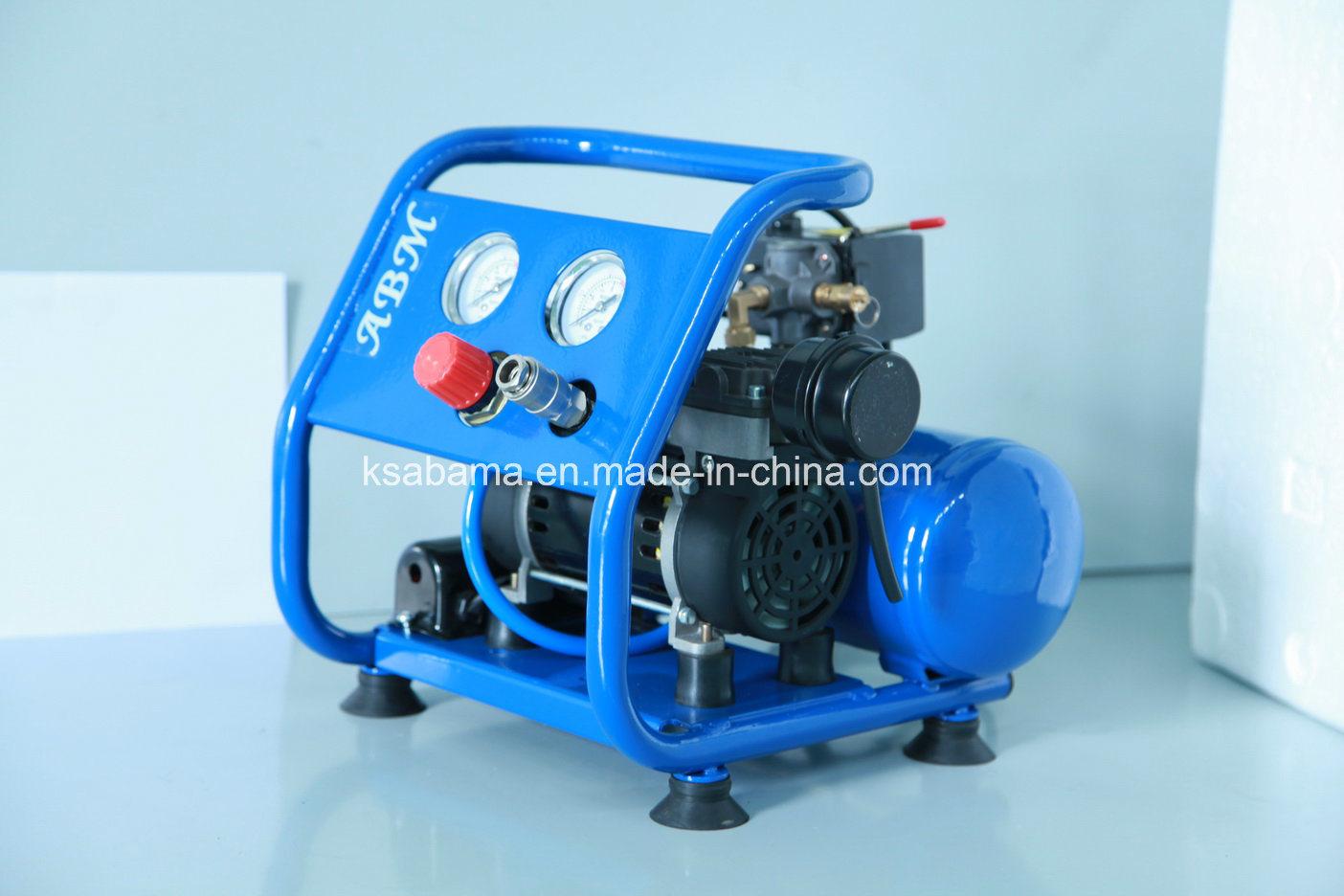 Tat-0204hn Hand Carry Oil Free Silent Air Compressor (0.75HP 4L)