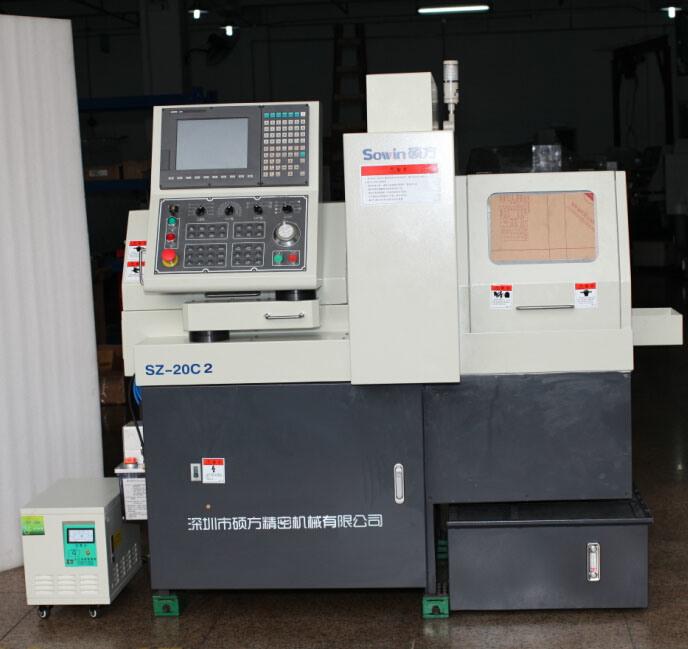 Swiss Type CNC Automatic Lathe Vertical Cutting Machine