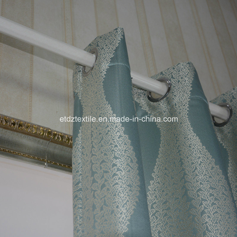 Toppest Grade of Embroidery Like Jacquard Ready Made Curtain