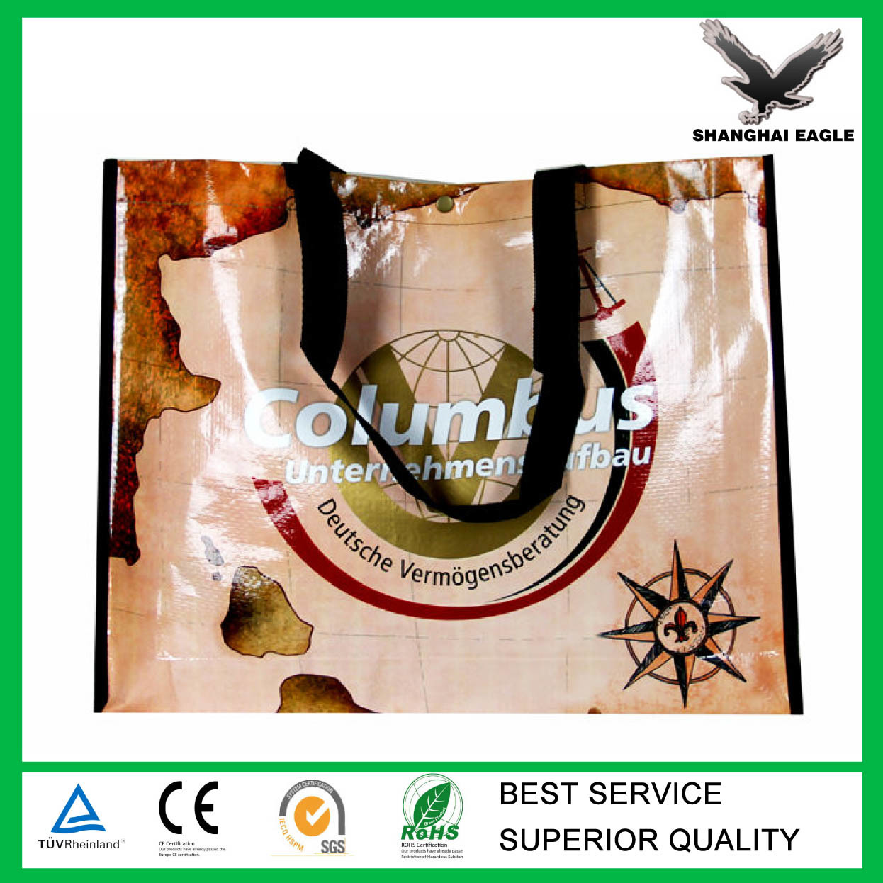 Promotion BOPP Laminated PP Woven Packing Bags Wholesale