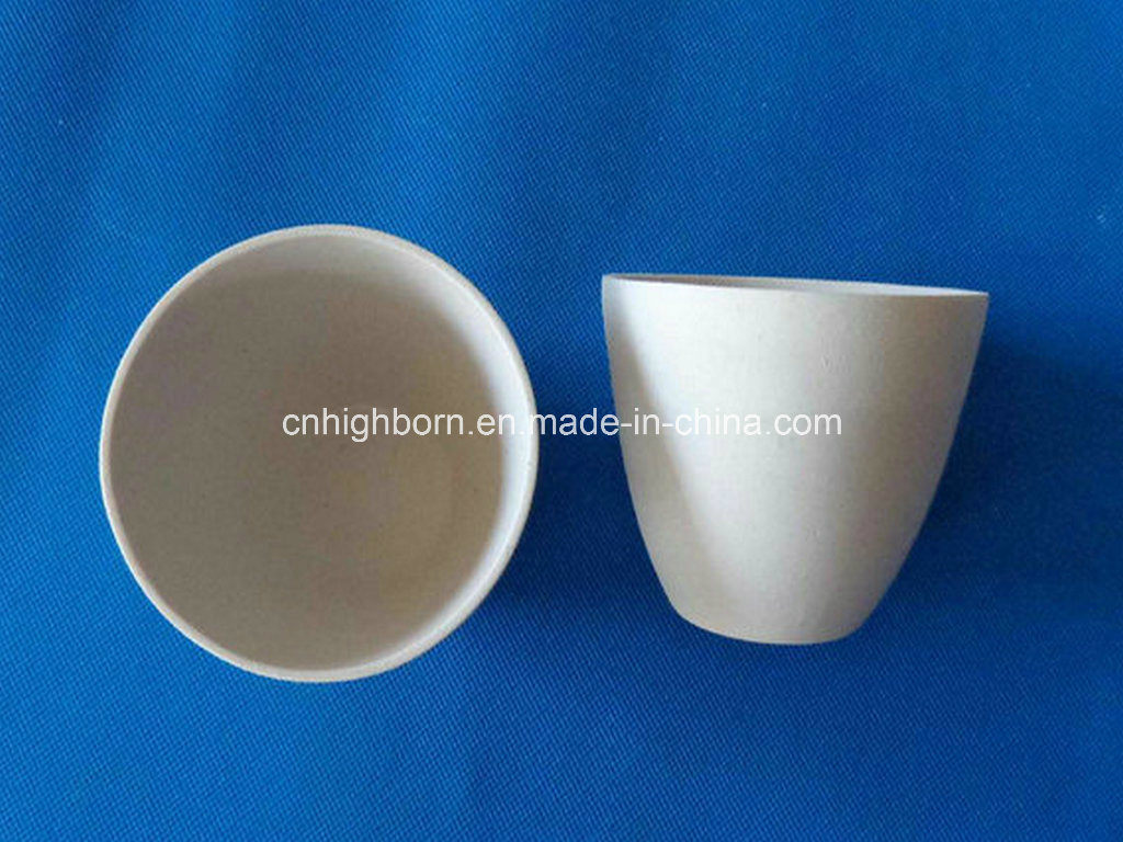 Refractory Glazing Porcelain Crucible for Laboratory