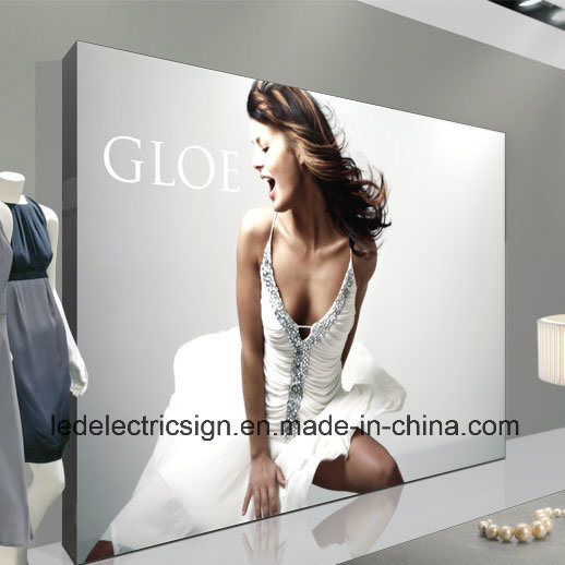 Wall Art Fabric Light Box LED Backlit Aluminum Frame Advertising Sign with Outdoor LED Sign