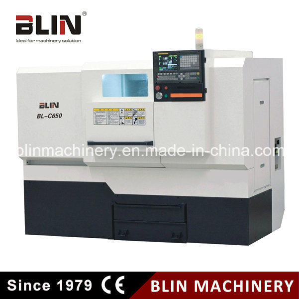 Bl-C650 Flat Bed CNC Lathe for Big Disc Machining