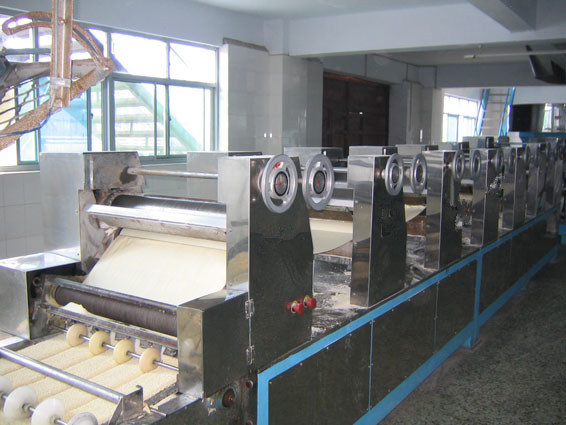 Fast Food High Quality Fried Instant Noodle Making Machine