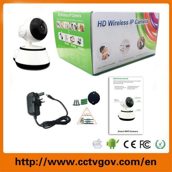 Comet Wireless 720p Pan Tilt Network Security CCTV IP Camera Night Vision WiFi Webcam