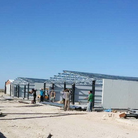 Modern Designed Prefab Poultry House with Full Set Poultry Equipment