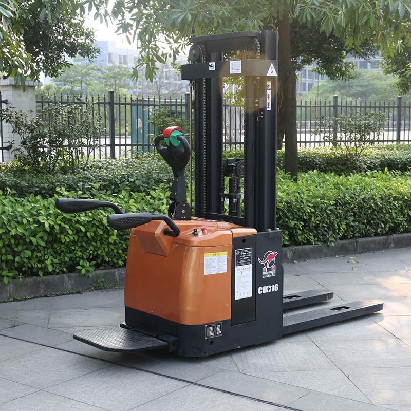 Marshell Brand Forklift Truck 1.6t Electric Pallet Stacker (CDD16)