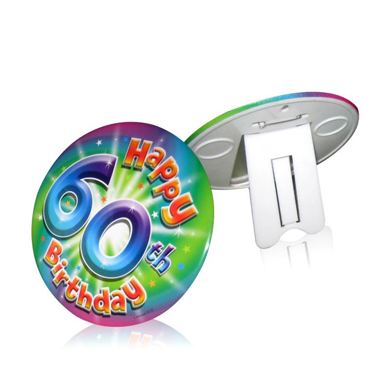 Birthday Gift Photo Frame Badge 160mm Diameter