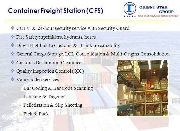 Warehouse Service From China to United States