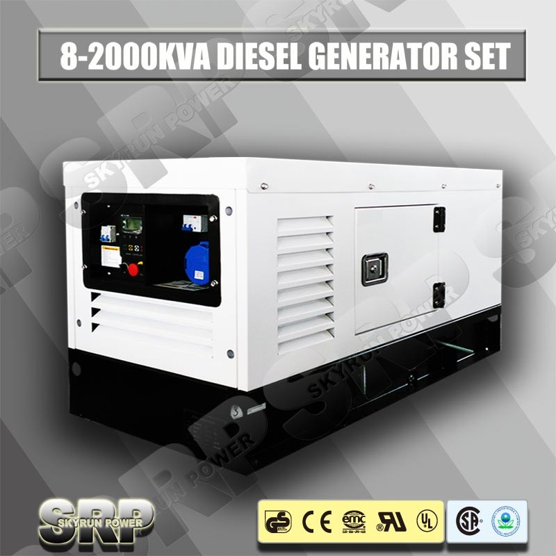 10kVA silent Diesel Generating Generator Set Powered by Perkins Engine