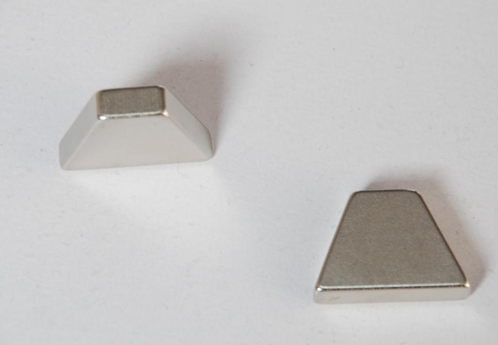 Sintered Permanent Rare Earth Trapezoid NdFeB Magnets for Motor