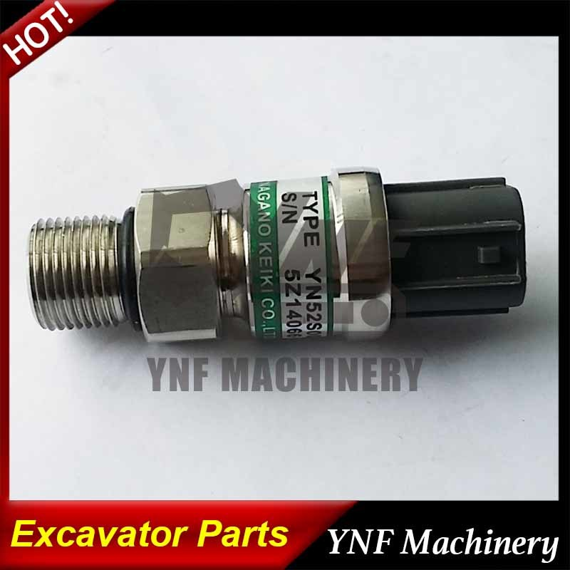 High Pressure Sensor/ Negative Pressure Sensor Yn52s00016p3 Kobelco Excavator