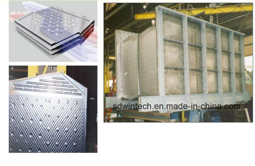 Hexagon Plate Type Air Preheater /Air to Air Heat Exchanger/Waste Heat Recovery Unit