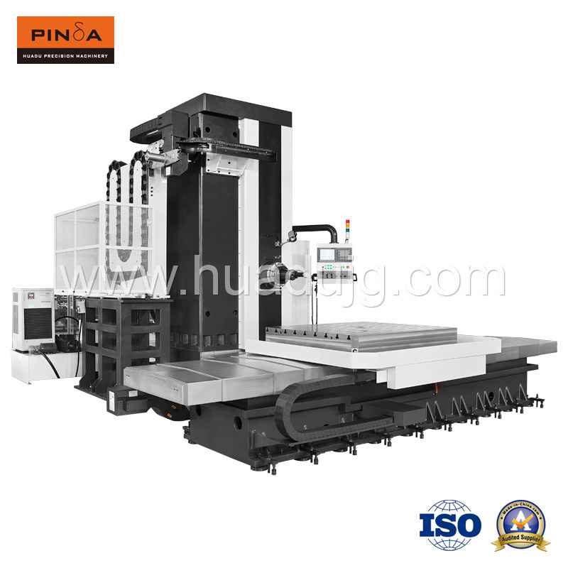 Five Axis Horizontal Boring and Milling CNC Machine Center Hbm-110t2