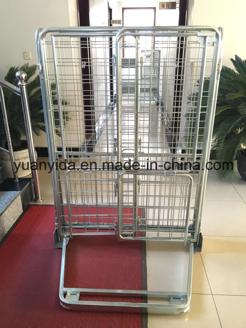 Hot Sale Zinc Plated Wire Mesh Supermarket and Warehouse Roll Pallet