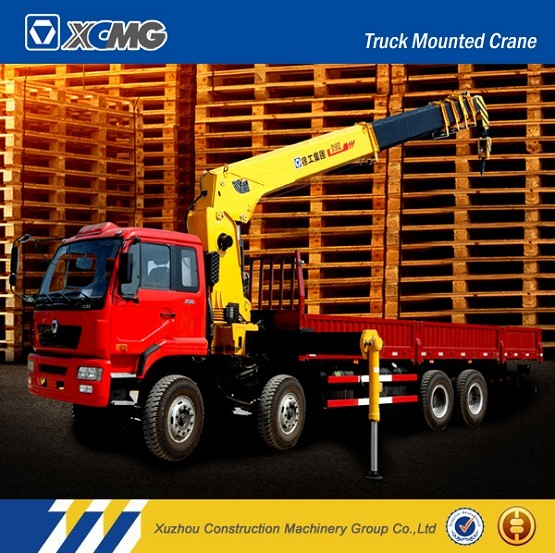 XCMG Sq3.2sk2q 3.2ton Straight Arm Telescopic Boom Truck Mounted Crane
