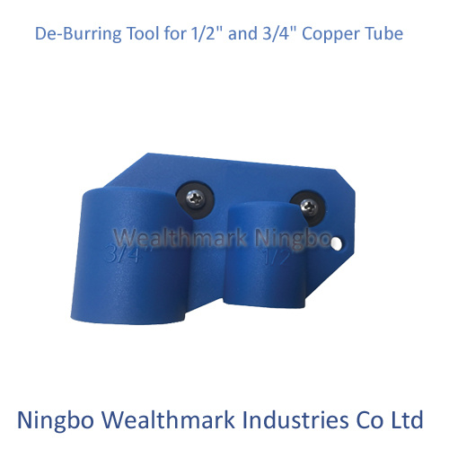 "De-Burring Tool for 1/2"" and 3/4"" Copper Tube"