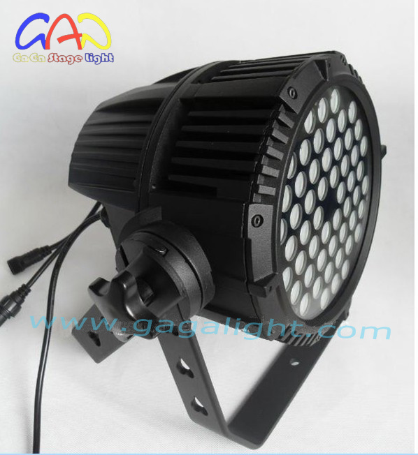 IP65 LED Stage Lighting 54*3W Waterproof LED PAR Can