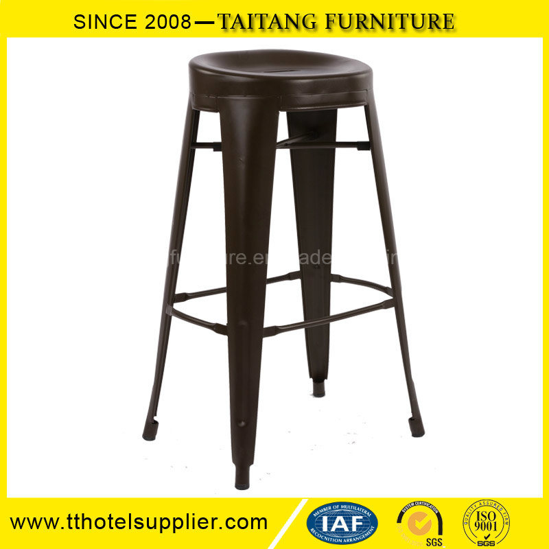 Modern Design Metal Round Bar Stool