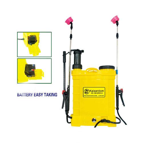 18L Knapsack Battery and Manual Sprayer (KD-18D-NP001A)