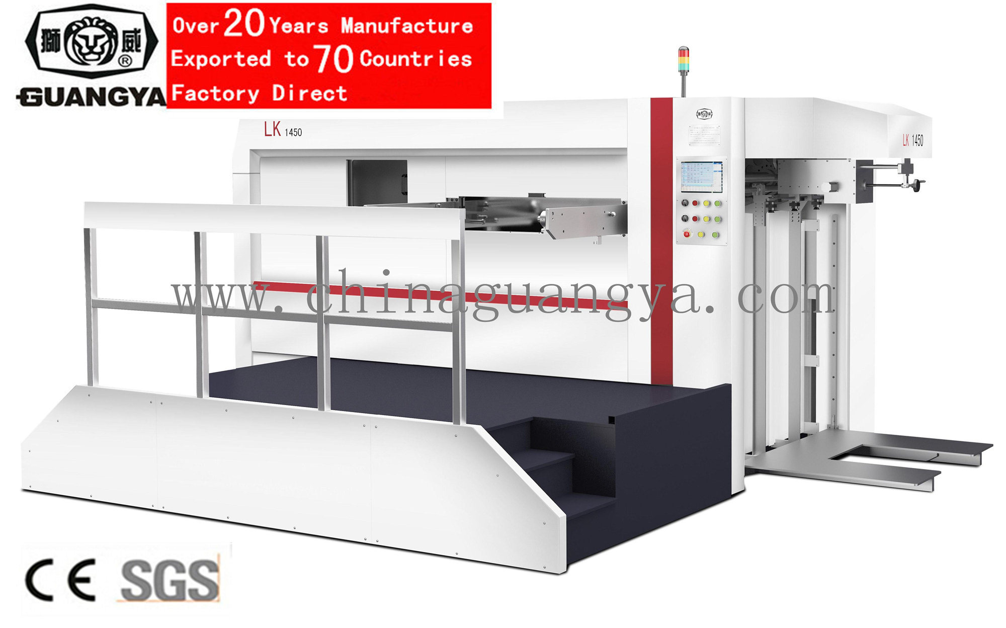 Manual-Auto Integrated Automatic Die Cutting Machine (1450*1060mm, LK1450)