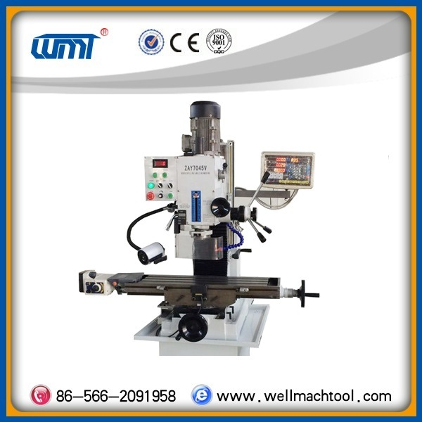 Variable Speed ZAY 7045V Milling and Drilling machine with CE Standard
