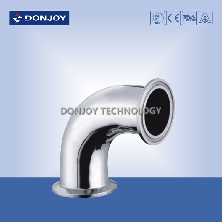 Stainless Steel Elbow 45 Degree for Food Processing Pipe