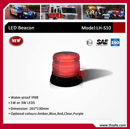 New LED Beacon with 1W or 3W LEDs (LH-S10)