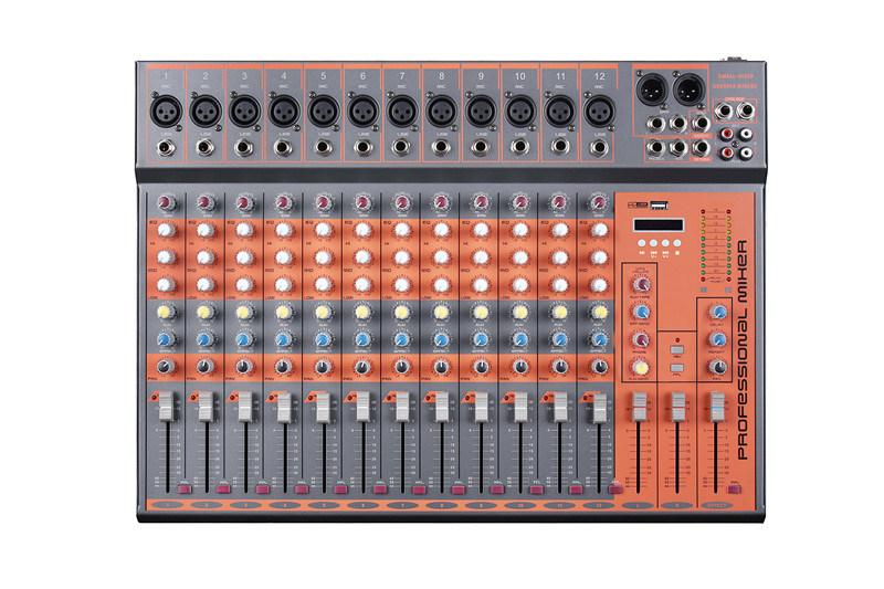 Mixer/Soud Mixer/Professional Mixer /Console/Sound Console/Brand Mixer Mixing Console/Cx12u