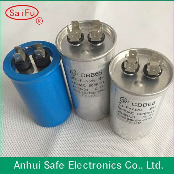 High Quality AC Motor Run Capacitor Cbb65