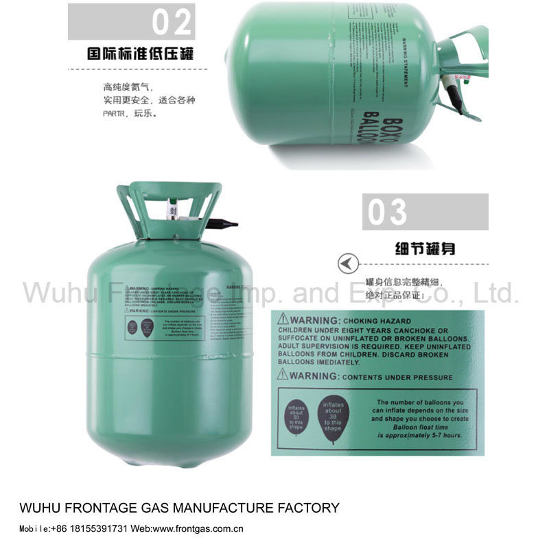 Portable Disposable Tank Helium Gas