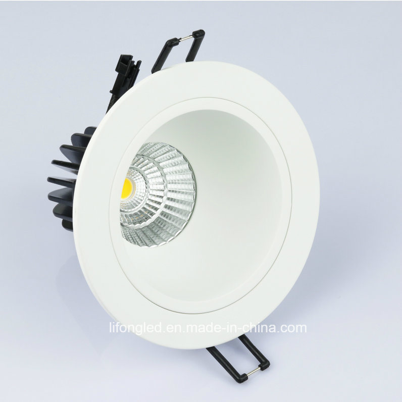 Anti-Glare 7W 9W COB LED Downlight with Die Casting Aluminum