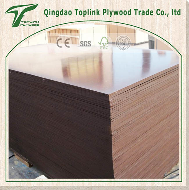 Brown Finger Joint Plywood with Phenolic Film Paper
