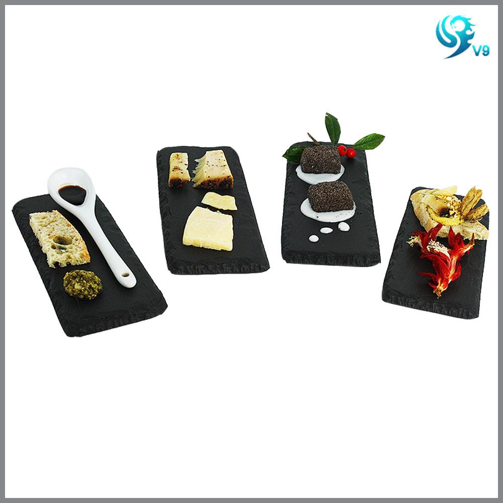 Custom Size Quality Acidoresistant Slate Cheeseboard