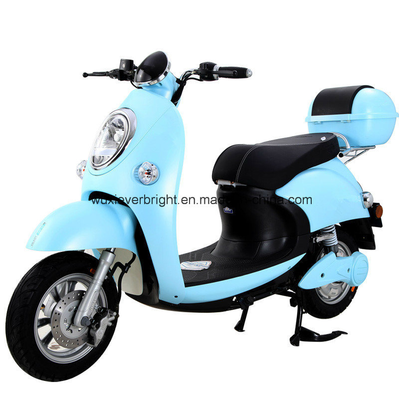 Wholesale Lady 650W Electric Motorcycle to Europe South America