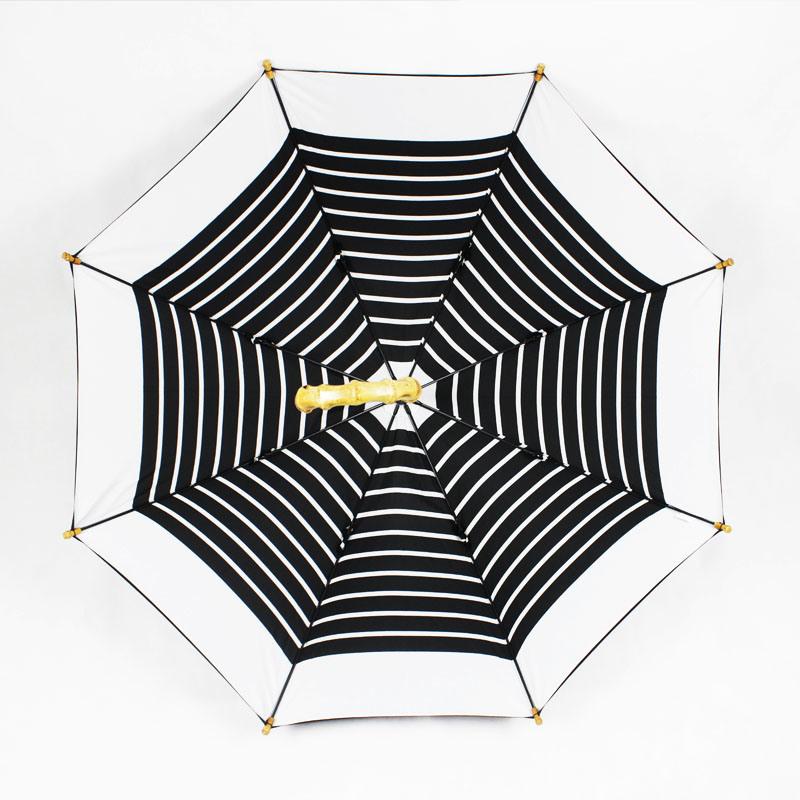 Real Bamboo Handle Double Layer Straight Manual Umbrella (JL-MPC101)