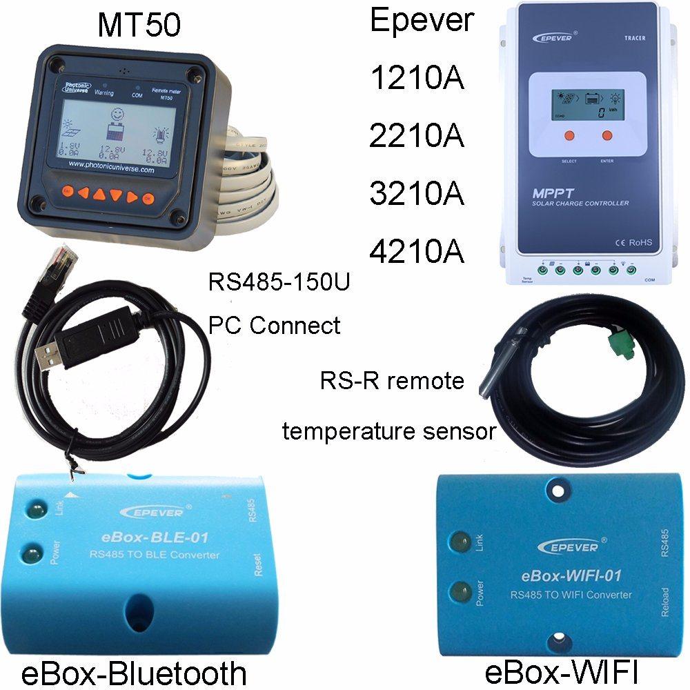 MPPT LCD 10A 12V/24V Solar Power Controller+Ce+Rhos 1210A