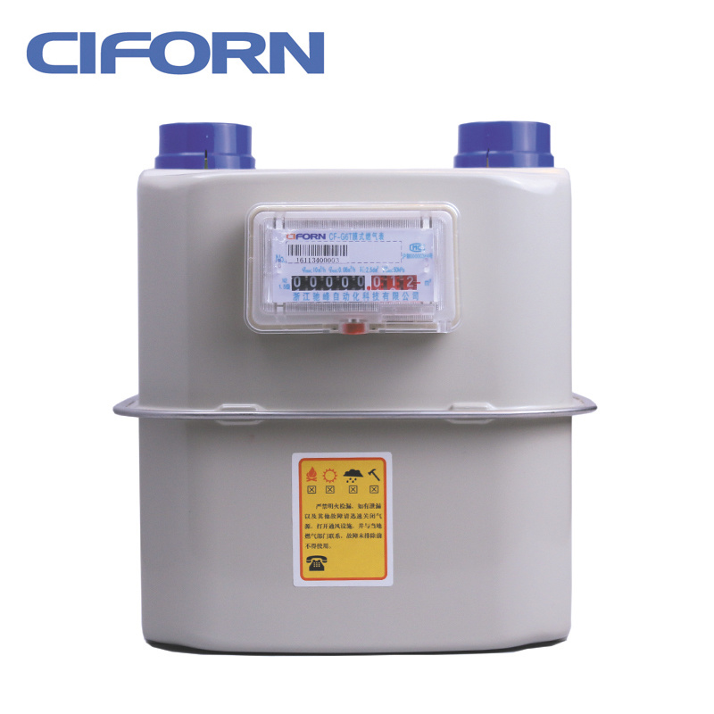 Steel Case Diaphragm Industrial Gas Meter G6-G25