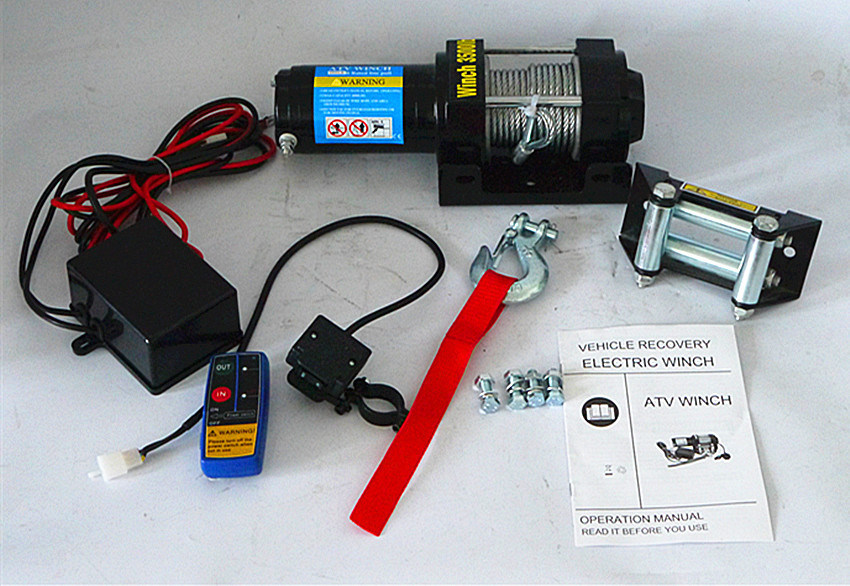 ATV 4WD off-Road Electric Winch Power Winch (3500lb-2)